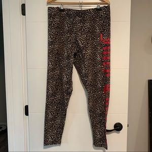 Juicy Couture | Leopard Print Branded Leggings
